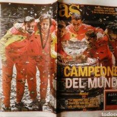 Coleccionismo deportivo: DIARIO DAX ESPAÑA CAMPEONA COPA DAVIS TENIS 2019. Lote 222484253