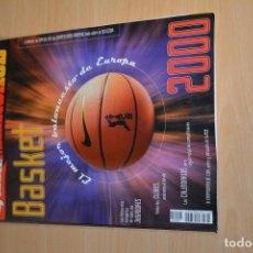Coleccionismo deportivo: GUIA MARCA ACB BASKET 2000. Lote 222489952
