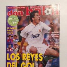 Collectionnisme sportif: REVISTA DON BALÓN Nº 1147 OCTUBRE 1997. AÑO XXIII. LOS REYES DEL GOL. TDKC80. Lote 222502925