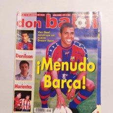 Collectionnisme sportif: REVISTA DON BALÓN Nº 1138 AGOSTO 1997. MENUDO BARÇA. AÑO XXIII. TDKC80. Lote 222504225