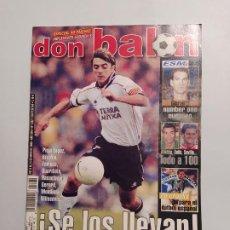 Collectionnisme sportif: REVISTA DON BALON Nº 1282 - 8 AL 14 MAYO 2000 - SE LOS LLEVAN -. TDKC80. Lote 222506893