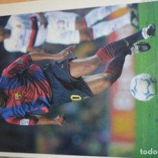 Coleccionismo deportivo: RECORTE DE DON BALON 2000-01.FOTO DE RIVALDO (FC BARCELONA). Lote 222548663