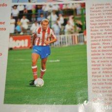 Coleccionismo deportivo: RECORTE DON BALON TEMPORADA 1990-91.RODAX (AT MADRID). Lote 222566876