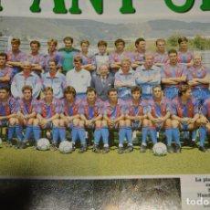 Coleccionismo deportivo: RECORTE DON BALON TEMPORADA 1990-91.PLANTILLA DEL FC BARCEL,ONA. Lote 222569443
