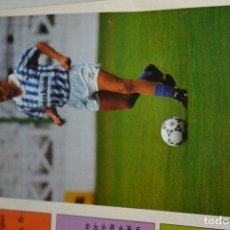 Coleccionismo deportivo: RECORTE DON BALON TEMPORADA 1990-91.FOTO DE KEVIN RICHARDSON (R SOCIEDAD). Lote 222569553
