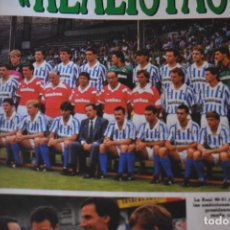 Coleccionismo deportivo: RECORTE DON BALON TEMPORADA 1990-91.FOTO PLANTILLA R SOCIEDAD. Lote 222569641