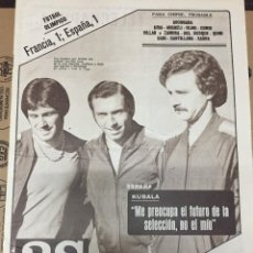 Coleccionismo deportivo: AS (6-12-1979) CHIPRE ESPAÑA PEREIRA PABLO PORTA PEDRO VILARDEBO CICLISMO. Lote 222586576