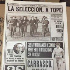 Coleccionismo deportivo: AS (5-12-1979) CHIPRE ESPAÑA CARRASCO BOXEO SAINT ETIENNE PABLO PORTA FERNANDO ARCEGA BALONCESTO. Lote 222586771