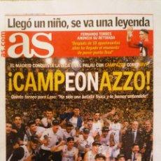 Coleccionismo deportivo: PERIÓDICO DIARIO AS REAL MADRID CAMPEÓN LIGA 2019 BALONCESTO. Lote 222623888