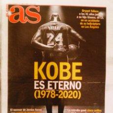 Coleccionismo deportivo: PERIÓDICO AS DIARIO KOBE BRYANT MUERE UNA LEYENDA. Lote 222623981
