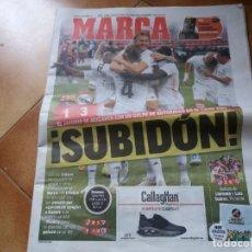 Coleccionismo deportivo: REVISTA DEPORTIVA MARCA. CLÁSICO. FC BARCELONA 1, REAL MADRID 3. OCTUBRE, 2020.. Lote 222656122
