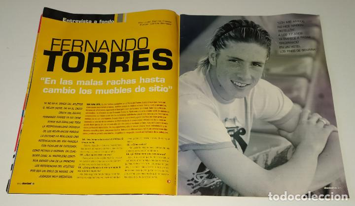 Coleccionismo deportivo: REVISTA DON BALÓN 30 AÑOS - NUMERO ESPECIAL - ZIDANE - FERNANDO TORRES - RONALDINHO - Foto 4 - 222657771