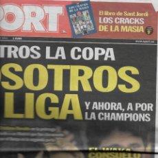 Coleccionismo deportivo: BARÇA: FINAL DE COPA DEL REY DE 2011. DIARIO SPORT. Lote 222679117