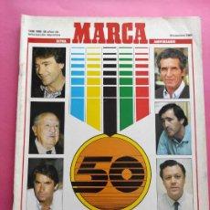 Coleccionismo deportivo: REVISTA MARCA 1987 ESPECIAL 50 AÑOS 1938 1988 - SUPLEMENTO EXTRA ANIVERSARIO DEPORTES 88. Lote 222752207