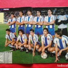 Coleccionismo deportivo: REVISTA MARCA SUPERCOLOR Nº 14 1986 - POSTER RCD ESPANYOL 86 87 - SAN JOSE MALLORCA - POLI RINCON. Lote 222753570