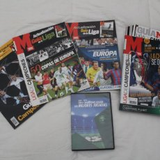Coleccionismo deportivo: LOTE 9 GUIA LIGA DE CAMPEONES. DIARIO MARCA.TEMPORADA 2004 A LA 2012 MÁS DVD CON LAS MEJORES JUGADAS. Lote 222798102