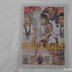Coleccionismo deportivo: DIARIO AS 22/08/2020. SEVILLA F.C CAMPEÓN DE LA SEXTA EUROPA LEAGUE FÚTBOL (2020).. Lote 222800995
