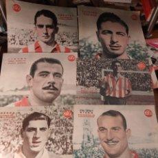 Coleccionismo deportivo: 6 POSTER DE ATLÉTICO DE AVIACIÓN. PERIÓDICO MARCA AÑOS 50 .. Lote 222829670