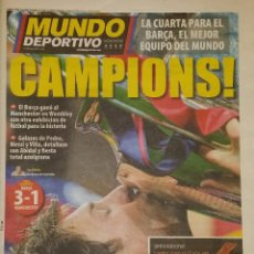 Coleccionismo deportivo: FINAL CHAMPIONS 2011 - FC BARCELONA & MANCHESTER UNITED. Lote 222846027