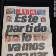 Coleccionismo deportivo: DIARIO MARCA 19 DE JUNIO DE 1998. ESPAÑA-PARAGUAY.. Lote 222848021