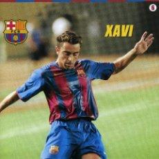 Coleccionismo deportivo: XAVI - F. C. BARCELONA. Lote 222903911
