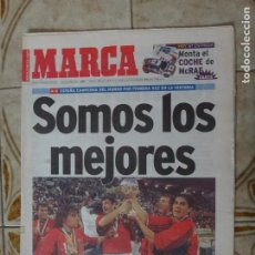 Coleccionismo deportivo: PERIODICO MARCA 25/4/99 ESPAÑA CAMPEONA DEL MUNDO. Lote 223022652
