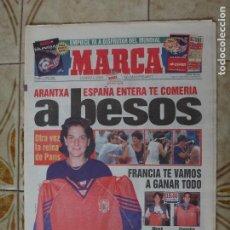 Coleccionismo deportivo: PERIODICO MARCA 7/6/98 ARANTXA GANA SU TERCER ROLAND GARROS. Lote 223026146