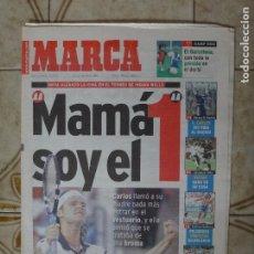 Coleccionismo deportivo: PERIODICO MARCA 14/3/99 CARLOS MOYA NUMERO 1 DEL MUNDO. Lote 223034823