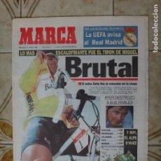 Coleccionismo deportivo: PERIODICO MARCA 12/7/95 SUPER ETAPA DE INDURAIN EN EL TOUR. Lote 223037086