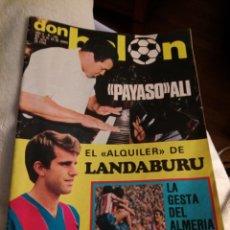 Coleccionismo deportivo: DON BALÓN. NÚMERO 193. AÑO 1979. LANDABURU. ALÍ. ALMERÍA.. Lote 223145853