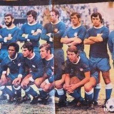 Coleccionismo deportivo: PÓSTER DEL DIARIO DEPORTIVO AS COLOR: C.F. CALVO SOTELO .TEMPORADA 1975-1976. Lote 223147340