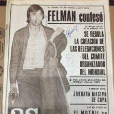 Collectionnisme sportif: AS (31-10-1979) FELMAN BARACALDO GERARDO PUSKAS RAFAEL PAJARES JEAN MARIE PFAFF. Lote 223199140