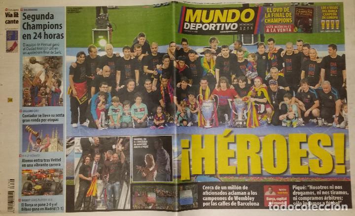FINAL CHAMPIONS 2011 - FC BARCELONA & MANCHESTER UNITED (Coleccionismo Deportivo - Revistas y Periódicos - Mundo Deportivo)