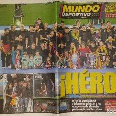 Coleccionismo deportivo: FINAL CHAMPIONS 2011 - FC BARCELONA & MANCHESTER UNITED. Lote 223318620