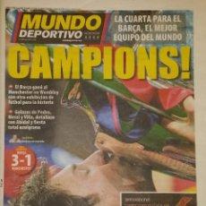 Coleccionismo deportivo: FINAL CHAMPIONS 2011 - FC BARCELONA & MANCHESTER UNITED. Lote 223319110