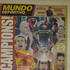 Coleccionismo deportivo: FINAL CHAMPIONS 2009 - FC BARCELONA & MANCHESTER UNITED. Lote 223319446