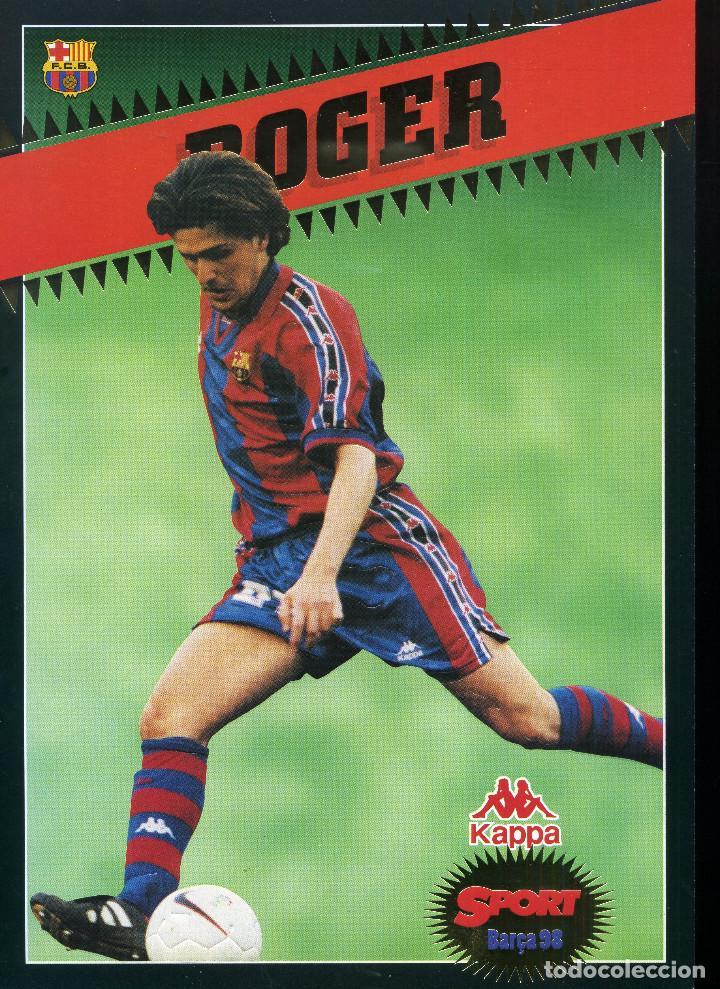FC BARCELONA - ROGER (Coleccionismo Deportivo - Revistas y Periódicos - Sport)