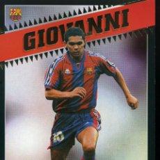 Coleccionismo deportivo: FC BARCELONA - GIOVANNI. Lote 223430916