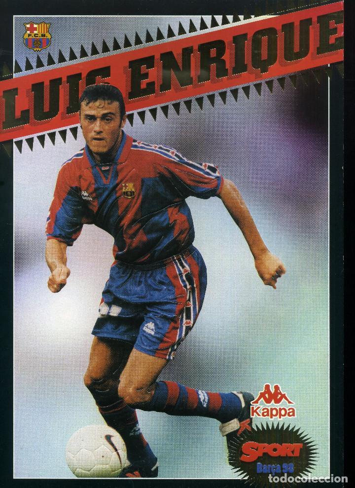 FC BARCELONA - LUIS ENRIQUE (Coleccionismo Deportivo - Revistas y Periódicos - Sport)