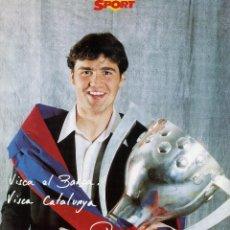 Coleccionismo deportivo: FC BARCELONA - ROGER. Lote 223436643