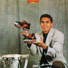 Coleccionismo deportivo: FC BARCELONA - GIOVANNI. Lote 223440106