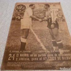Collezionismo sportivo: MARCA (26-5-42)EN COPA R.MADRID 2 BILBAO 1 TELMO ZARRA EN MADRID !!! ESPAÑOL 2 BARÇA 3 !!!. Lote 223448971