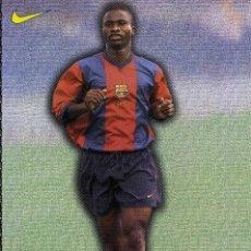 Coleccionismo deportivo: FC BARCELONA - OKUNOWO. Lote 223449948