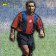 Coleccionismo deportivo: FC BARCELONA - SERGI. Lote 223454022