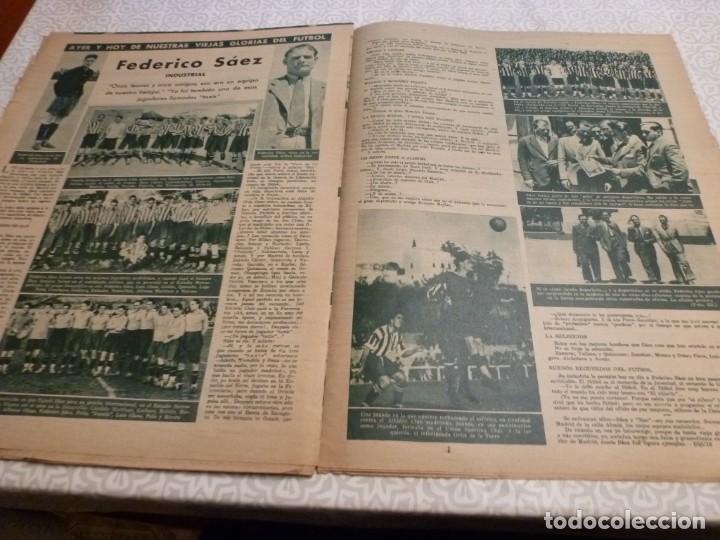 Coleccionismo deportivo: MARCA (10-8-43)LUCHA GRECORROMANA,FRANCISCO FRANCO,EL BILLAR,RICARDO ZAMORA,VUELTA CICLISTA - Foto 9 - 223513655
