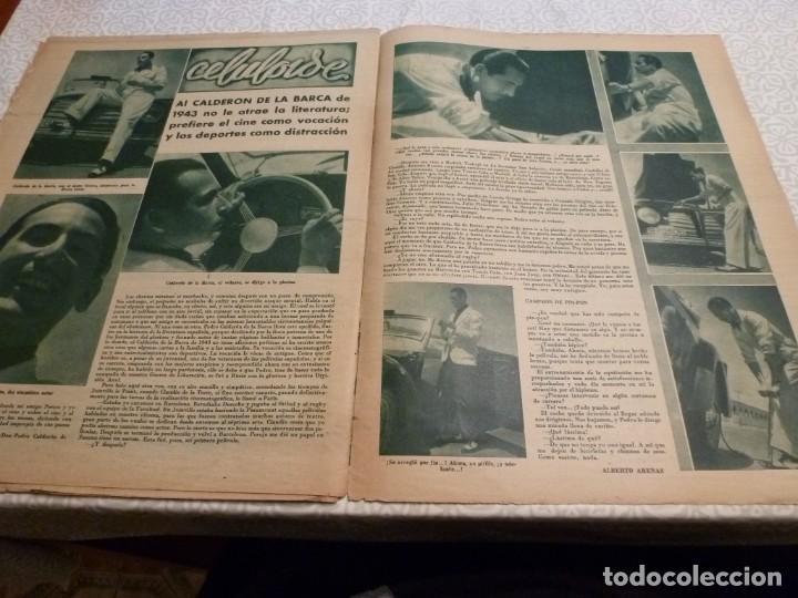 Coleccionismo deportivo: MARCA (10-8-43)LUCHA GRECORROMANA,FRANCISCO FRANCO,EL BILLAR,RICARDO ZAMORA,VUELTA CICLISTA - Foto 11 - 223513655