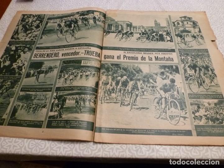 Coleccionismo deportivo: MARCA (14-9-43)FRANCO EN LAS REGATAS, VALENCIA 4 BARÇA 3,R.MADRID 5 HERCULES 3 (AMISTOSO) - Foto 5 - 223515526