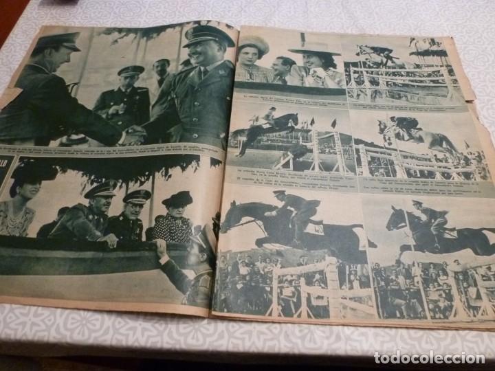 Coleccionismo deportivo: MARCA (14-9-43)FRANCO EN LAS REGATAS, VALENCIA 4 BARÇA 3,R.MADRID 5 HERCULES 3 (AMISTOSO) - Foto 6 - 223515526