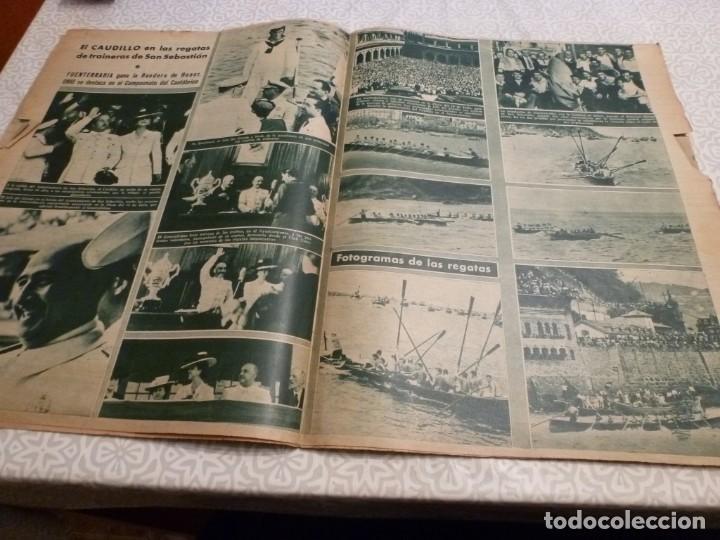 Coleccionismo deportivo: MARCA (14-9-43)FRANCO EN LAS REGATAS, VALENCIA 4 BARÇA 3,R.MADRID 5 HERCULES 3 (AMISTOSO) - Foto 7 - 223515526