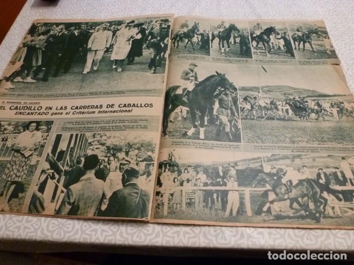 Coleccionismo deportivo: MARCA (14-9-43)FRANCO EN LAS REGATAS, VALENCIA 4 BARÇA 3,R.MADRID 5 HERCULES 3 (AMISTOSO) - Foto 8 - 223515526
